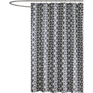 Yeats Cotton Shower Curtain