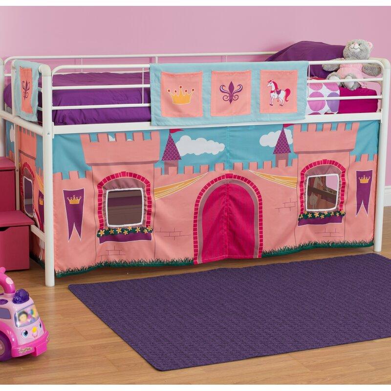 Catalina Princess Castle Curtain Set For Junior Loft Bed