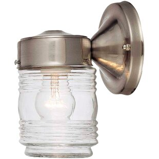 Compare prices 1-Light Outdoor Sconce By Hardware House