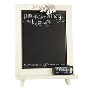 This is the Day Free Standing Chalkboard