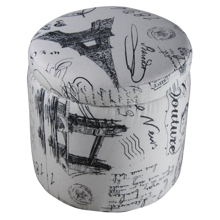 Pleasant Paris Storage Ottoman Bralicious Painted Fabric Chair Ideas Braliciousco