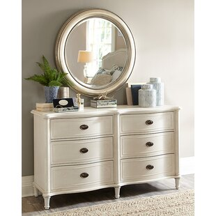 Birch Lane™ Watson 6 Drawer Double Dresser