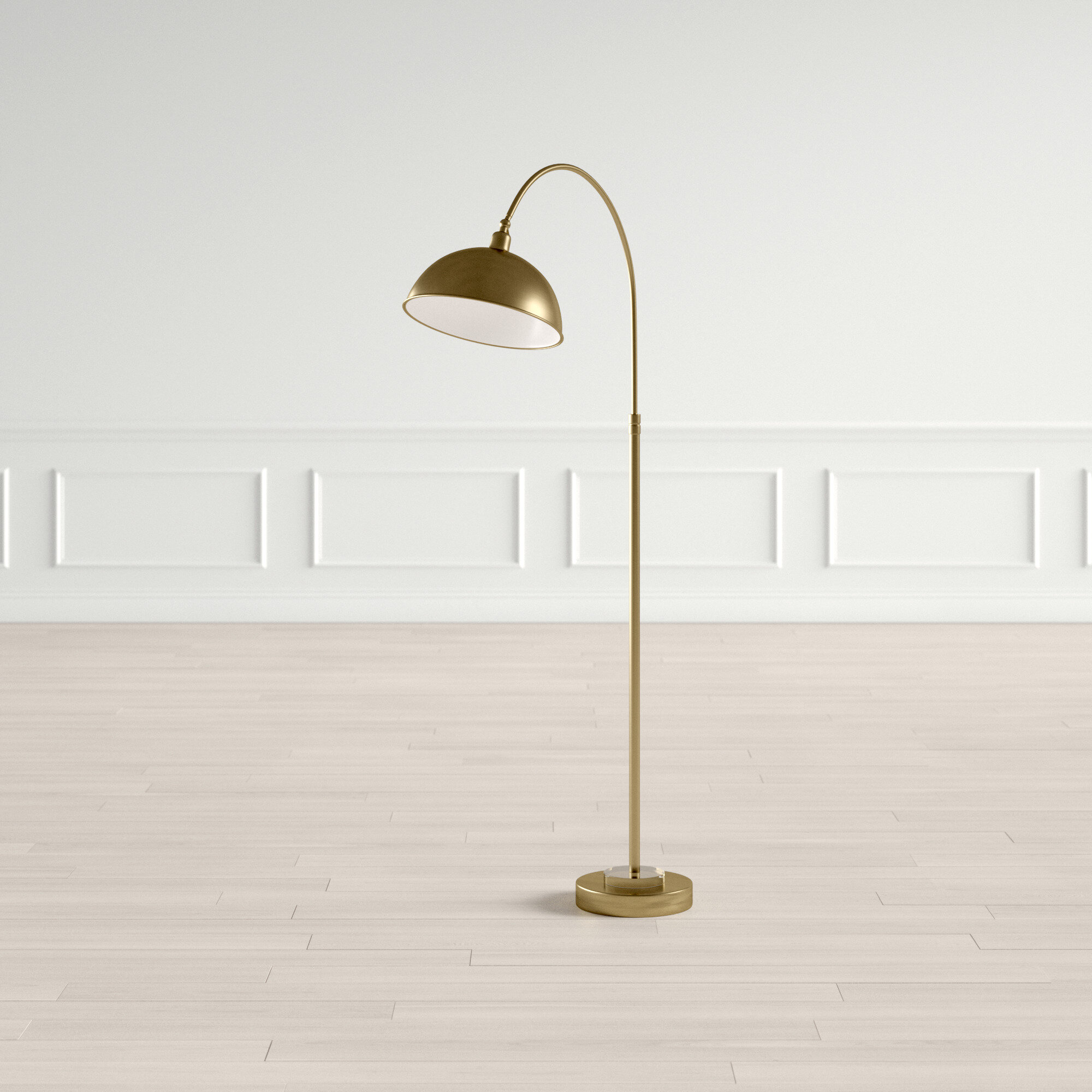 Rahman 63 5 Arched Arc Floor Lamp
