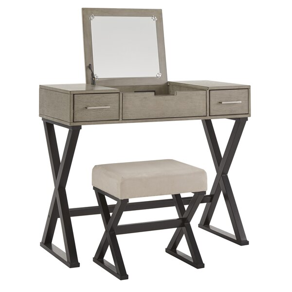 Makeup Tables and Vanities You\'ll Love in 2019 | Wayfair