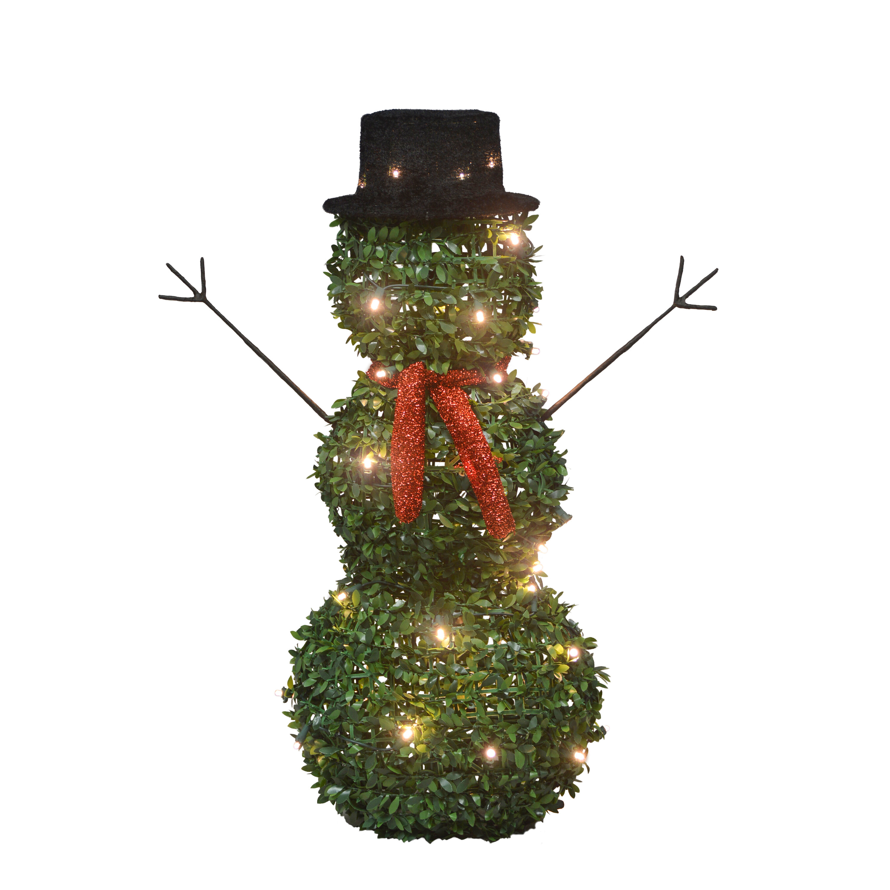 Lighted Lighted Displays Snowman Outdoor Christmas Decorations You Ll Love In 2021 Wayfair