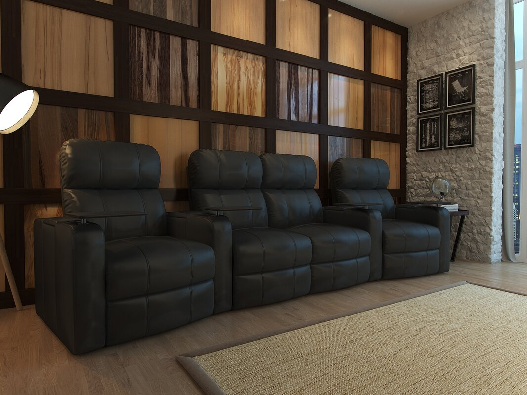 Theater Seating Youll Love Wayfair - Home theater furniture