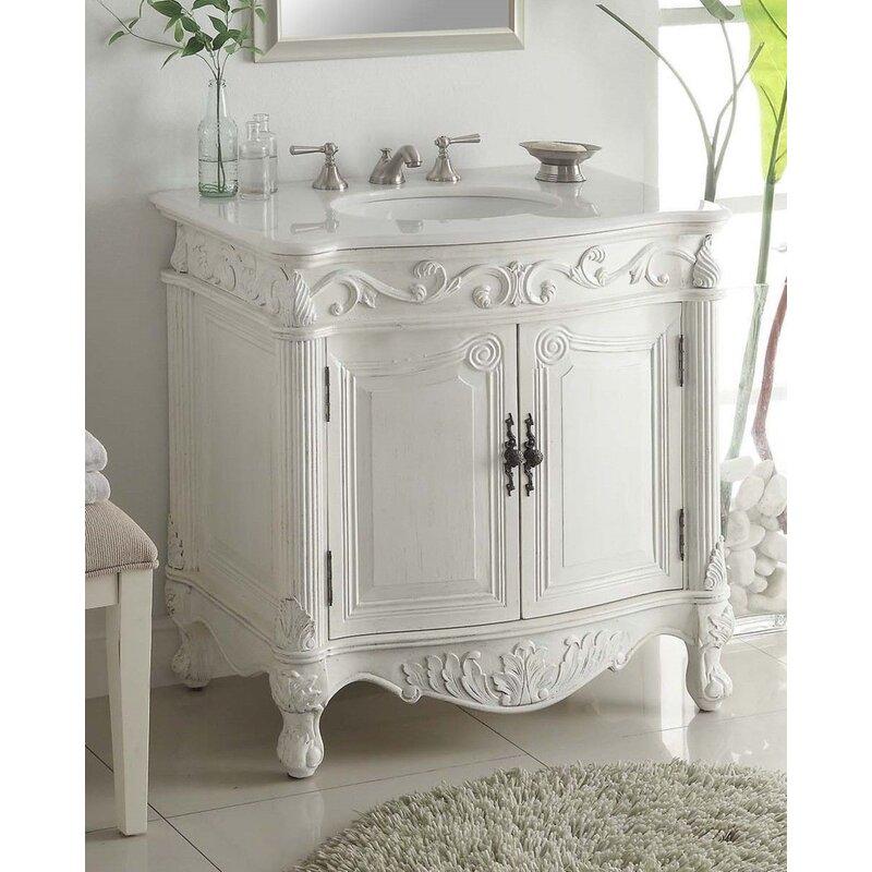 Astoria Grand Ruvalcaba 32 Single Bathroom Vanity Set Reviews Wayfair