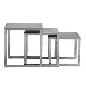Century 3 Piece Nesting End Table by Pangea ..