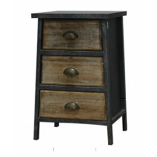 3 Drawer End Table by Woodland Imports