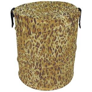 Rebrilliant Cheetah Pattern Pop Up Hamper