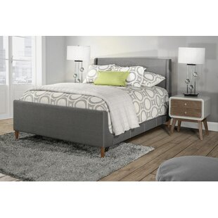Silas Denmark Upholstered Panel Bed by George Oliver