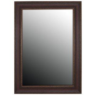 Second Look Mirrors Copper Embossed Bronze Wall Mirror