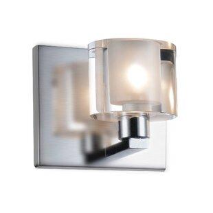 Best Reviews Tina 1-Light Flush Mount By CWI Lighting