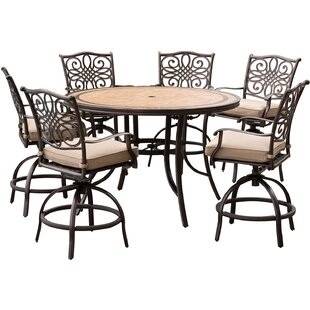 Bucci 7 Piece Dining Set with Cushions