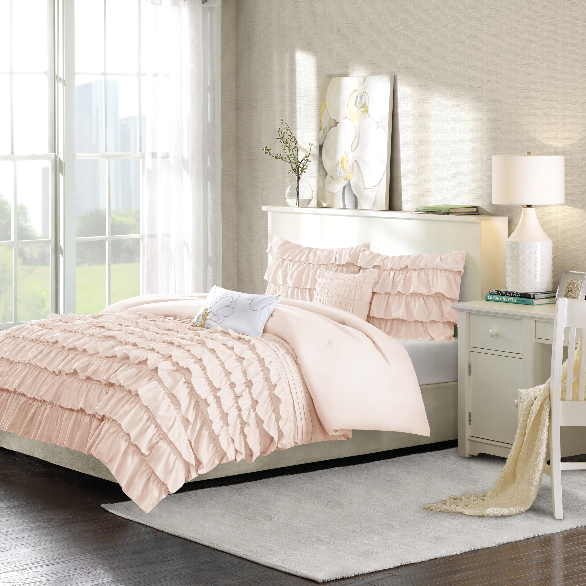 Pink Rose Gold Twin Bedding You Ll Love In 2021 Wayfair