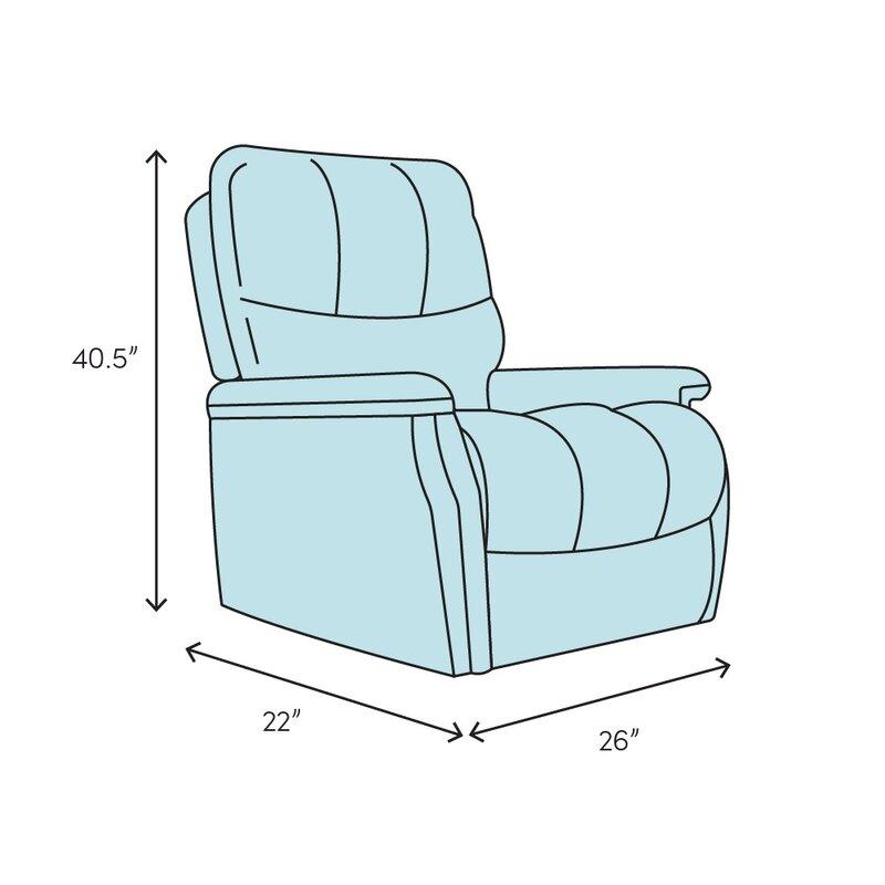 Orren Ellis Dockett Slim Design Manual Recliner Reviews