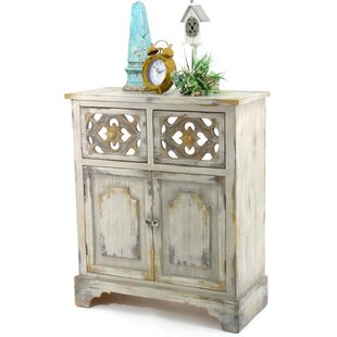 Heavner Wooden 2 Drawer Accent Cabinet by Bloomsbury Market