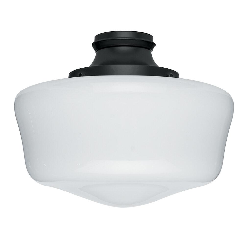 Hunter Fan 1 Light Schoolhouse Ceiling Fan Light Kit Reviews Wayfair