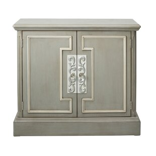 Blue Overlay 2 Door Accent Cabinet by One Allium Way