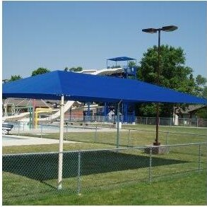 ALEKO 13 x 10 Rectangle Shade Sail