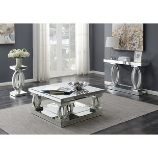 Rosdorf Park Lenum 3 Piece Coffee Table Set