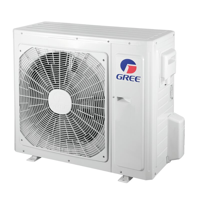 Livo 18,000 BTU Ductless Mini Split Air Conditioner with Heater and Remote