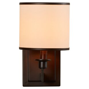 Great Price Darcia 1-Light Wall Sconce By Darby Home Co