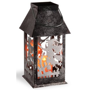 National Tree Co. Witch Lamp
