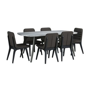 Dumfries 7 Piece Dining Set by Brayden Studio
