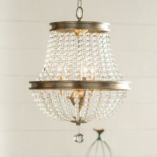 Lark Manor Papadopoulos 3-Light Empire Chandelier