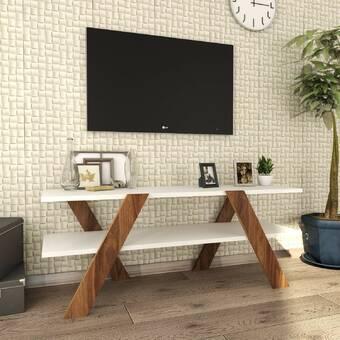 Brayden Studio Coalpit Heath Tv Stand For Tvs Up To 60 Reviews Wayfair