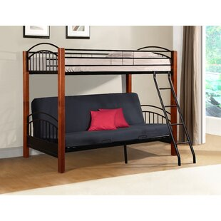 Hermina Metal and Wood Twin Bunk Bed