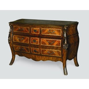 4 Drawer Bombe Chest by AA Importing