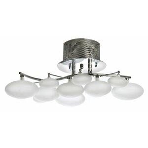 8-Light Semi-Flush Mount