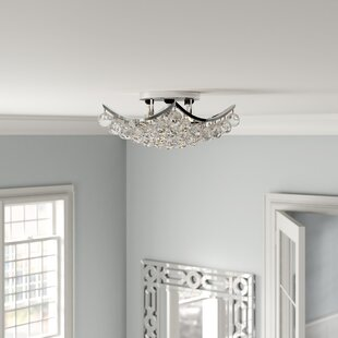 Kasha 4-Light Semi Flush Mount by Willa Arlo Interiors