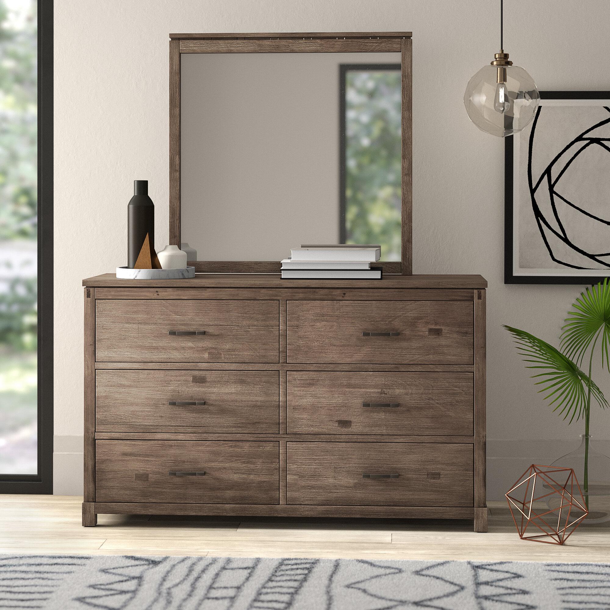 Seleukos 6 Drawer Double Dresser