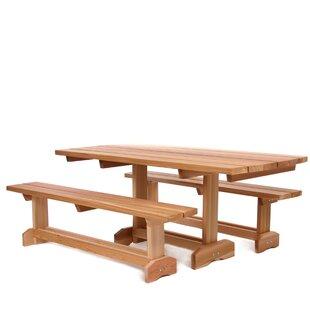 All Things Cedar 3 Piece Dining Set