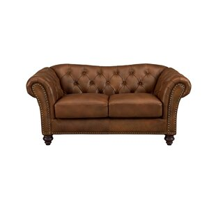 Tayla Craft Leather Loveseat