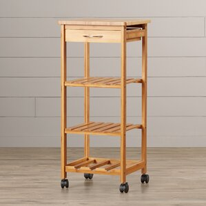 Abbey Kitchen Cart by August Grove Online Cheap