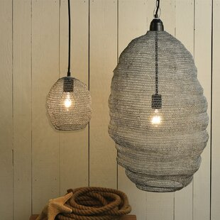 Breakwater Bay Linfield Looped Wire 1-Light Novelty Pendant