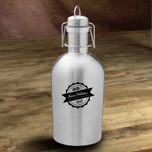 Bottle Top Personalized 64 oz. Stainless Steel Growler