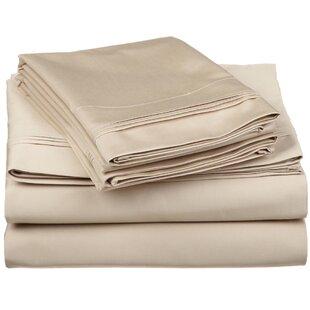 Brayden Studio Superior 650 Thread Count 100% Cotton Sheet Set