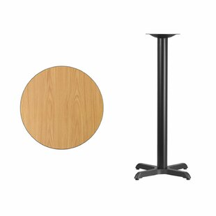 Carys Round Laminate Pub Table Symple Stuff