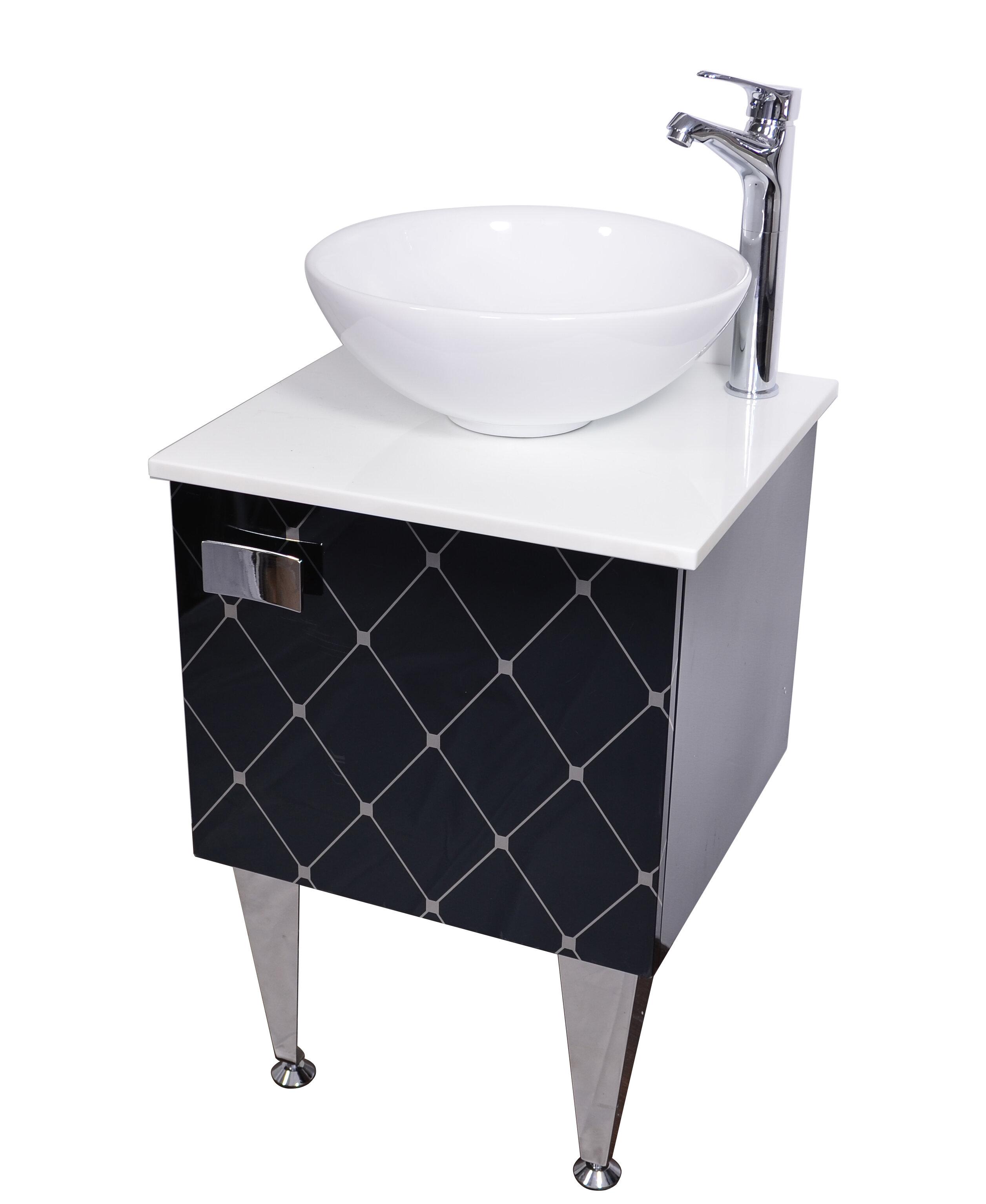 Orren Ellis Spears 20 Single Bathroom Vanity With Faucet Wayfair