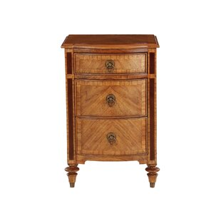 Eastcotts 3 Drawer Bedside Table By Astoria Grand