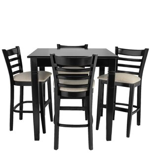Weiler 5 Piece Pub Table Set Red Barrel Studio