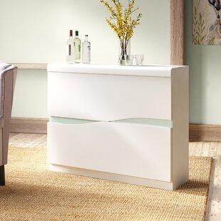 Jenkinson Bar Cabinet By Wade Logan