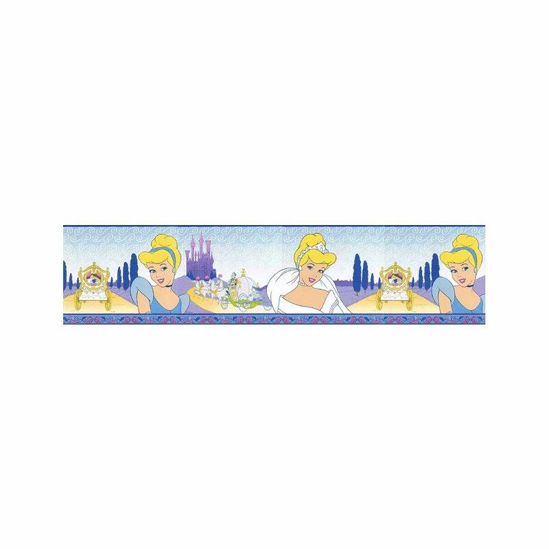 Dream Wall Decor Cinderella 15 L X 6 75 W Wallpaper Border Wayfair