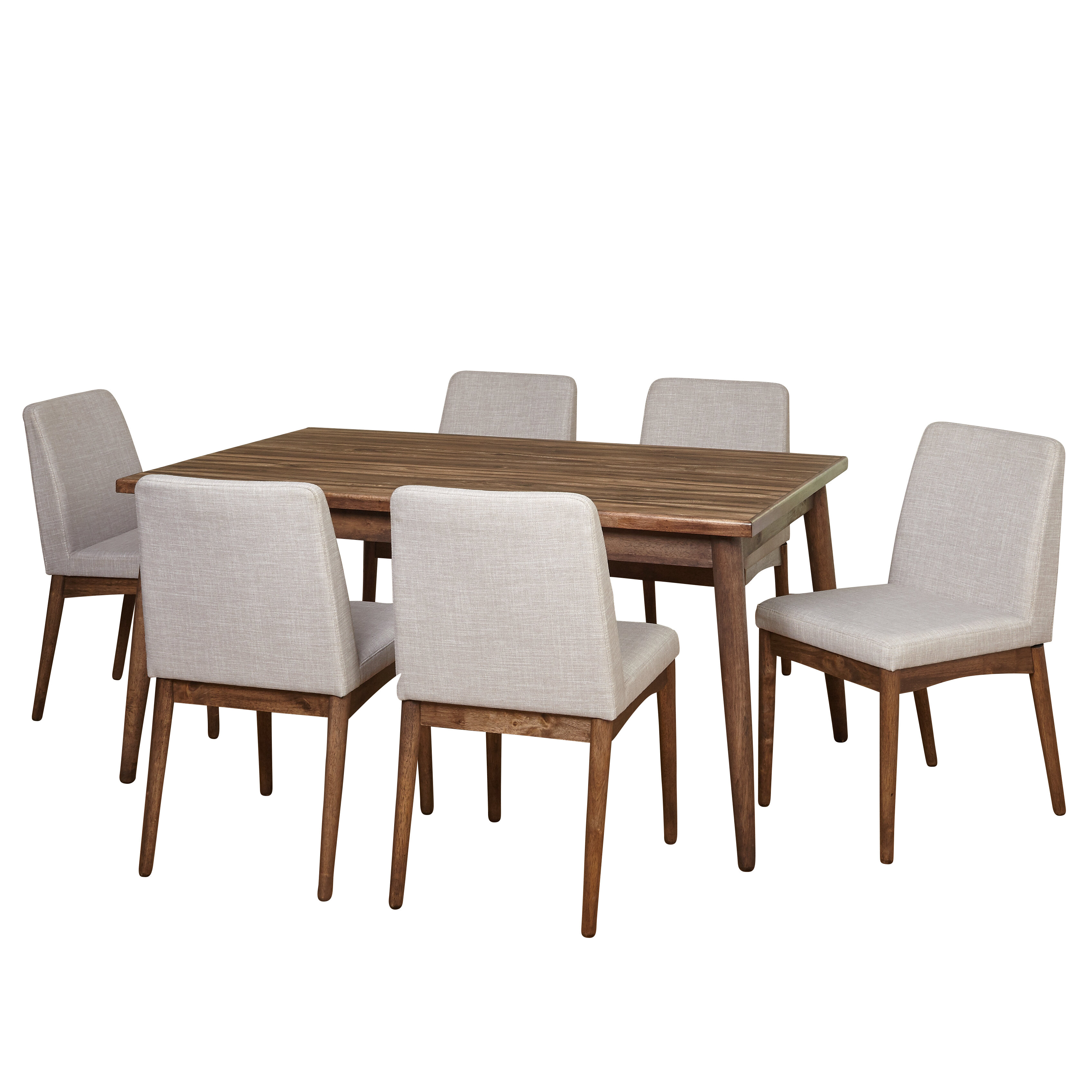 Three Piece Kitchen Table Set Lydia 7 piece dining set reviews allmodern workwithnaturefo
