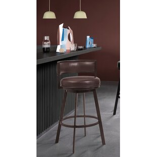 Pellegrini 26 Swivel Bar Stool by Williston Forge